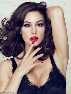 Monica Bellucci creates lipstick line for Dolce & Gabbana