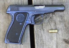 Remington Model 51. One of the most comfortable and intuitive pistols I have held.