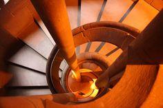 Escalier chateau du Haut Koenigsbourg - France