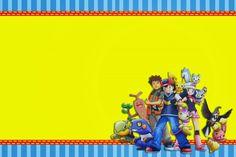 invitaciones de pokemon para imprimir 5