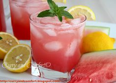 Curry and Comfort: Watermelon Lemonade