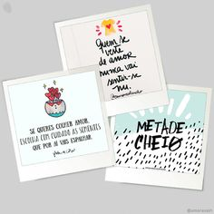 Tenho certeza que antes de sair de casa você dá aquela espiada nas redes sociais. Selecionei 5 perfis no Instagram com mensagens inspiradoras e lindas ilustrações. 📷  - #instagram #instalover #blog #positividade #aquarela #mensagemdodia #instamood #instacool #photo #love #draw #amorasays