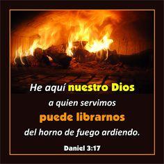 """¿Y si no?  Daniel 3:14-18 """"Habló Nabucodonosor y les dijo: ¿Es verdad, Sadrac, Mesac y Abed-nego, que vosotros no honráis a mi dios, ni adoráis la estatua de oro que he levantado? Ahora, pues…"""
