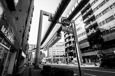 Monorail - At Chiba Japan