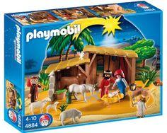 Playmobil Nativity Set - http://www.christmasshack.com/nativity-sets/playmobil-nativity-set/