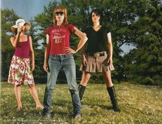 Leslie Feist, Emily Haines, and Amy Millan
