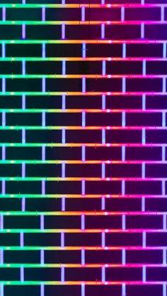 Wall brick by Ussama Azam Brick Wallpaper Android, Trippy Wallpaper, Disney Phone Wallpaper, Neon Wallpaper, Phone Screen Wallpaper, Cute Wallpaper Backgrounds, Wallpaper Iphone Cute, Aesthetic Iphone Wallpaper, Blue Backgrounds