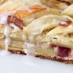 Cranberry Cream Cheese Braid