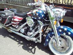 1998 Custom Harley Davidson Road King #harleydavidsonroadkinggirls #harleydavidsontrikeroadking