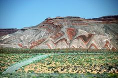 Raplee Anticline, Utah | Flickr - Photo Sharing! spring green.  Arun Yenumula has an excellent description.