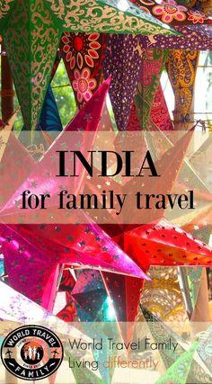 India for Family Travel via /worldtravelfam//