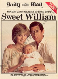 Prince William is born 21st June 1982