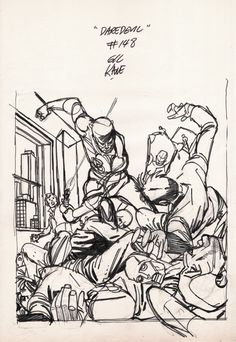 Daredevil #147 Cover Mockup (1977) Comic Art For Sale By Artist Gil Kane at Romitaman.com