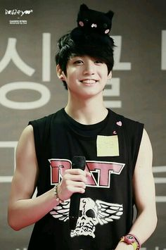 I love this Jungkook picture so much he is such a cutie~♡