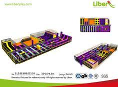 Liben Customized Trampoline Design for UK Client