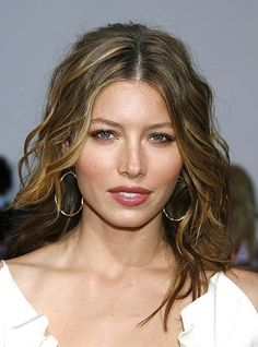Jessica Biel hair color