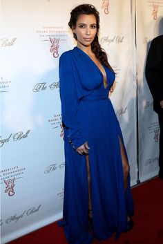 Kim Kardashian Angel Ball 2012 Wearing Balmain  #love
