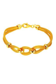 Silvex Gold Plated Silver Bracelet - Enviius