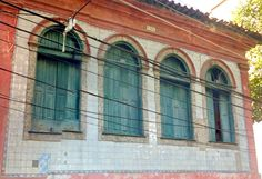 Azulejos antigos no Rio de Janeiro: Santa Teresa II - rua Santo Amaro