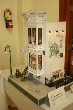 Connie Sauve - Miniature Show Photos..The Green Dragon Restaurant