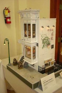 Connie Sauve - Miniature Show Photos..The Green Dragon Restaurant