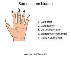 5 handvatten om kinderen te leren bidden / (Christelijke) opvoeding | Gezinonline.com