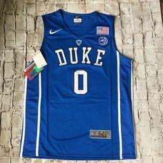 Details about Jayson Tatum Jersey  Duke Blue Devils   Blue Adult XL ff81094bb