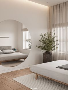 Home Room Design, Home Interior Design, House Design, Simple Interior, Home Bedroom, Modern Bedroom, Bedroom Decor, Bedrooms, Apartment Interior