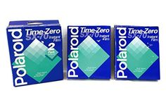 Polaroid Time Zero Sx-70 Color Instant Camera Film - Vintage (40 Pictures)