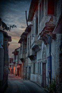 Antalya's old centre (Kaleici) at night, Turkey. Photograph 'Kaleici at night' by Uwe Klemm on 500px