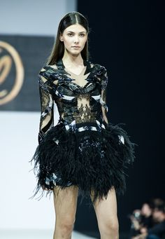 Valentin Yudashkin, love the top, not so much the skirt