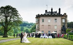Hassop Hall Wedding Photography » Pete Bristo Photography