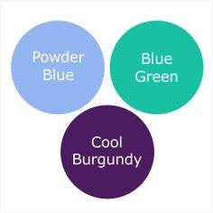 How To Wear Powder Blue For A Tinted Winter (Cool Winter)