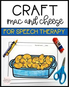 This super fun kid inspired speech craft will keep your students motivated and engaged while they practice speech targets. This activity is easy to use. Just print the black and white printables and grab some scissors, crayons and glue. Print on colored paper as an alternative to coloring. All targets are picture supported for non readers. Ideal for preschool, kindergarten and elementary students. This is a must have resource for the speech room!