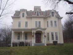 OldHouses.com - Victorian: Second Empire - Genkinger Estate-possible Bed & Breakfast in New Castle, Pennsylvania