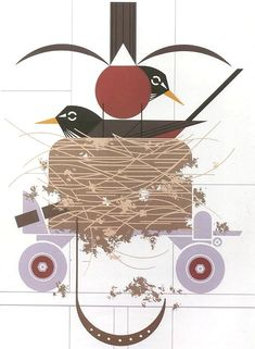 Confiscation by Charley Harper