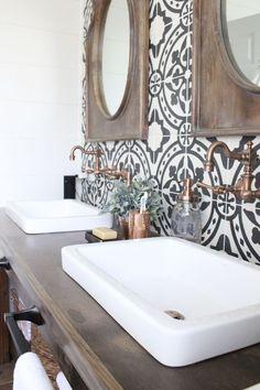 love that tile #interiordecorstylesgray