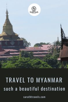 Looking for a Complete Myanmar Travel Guide? Here's everything you need to know before you go - tips, photos and travel advice on Myanmar Travel. Get inspired to travel and explore Myanmar. Let our Complete Guide to Myanmar help you discover the best places to visit in awesome Myanmar!!  #myanmar #myanmartrip #myanmartravel #myanmarguide #myanmarvacation #traveled #travelon #traveltherenext #traveltagged #sarathtravels