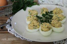 Uova ripiene con tonno e maionese - ricetta | cucina preDiletta
