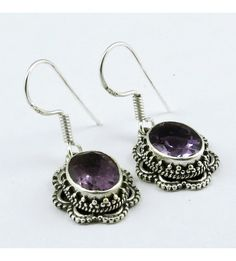 #Awesome 925 #Sterling #Silver #Handmaded #Amethyst  #Gemstone #Earring for #Women #We #deals in all types of #jewelry like #Children's #Jewelry #Engagement & #Wedding #Ethnic, #Regional & Tribal, #Fashion #Jewelry #Fine #Jewelry #Handcrafted #Artisan #Jewelry #Jewelry #Design & #Repair #Men's #Jewelry #Vintage & #Antique #Jewelry #Wholesale #Lots so #please ask us if you have any #enquiry