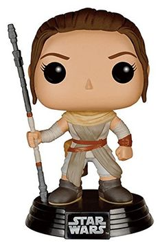 Star Wars: Episode VII Pop!s are coming to stores just in-time for The Force Awakens! Rey is a resilient survivor, a scavenger toughened by a lifetime or dealing with the cutthroats of the harsh deser
