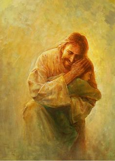 Like Unto A Child is a painting that depicts Jesus Christ comforting a young child of God - Yongsung Kim Jesus Art, God Jesus, Arte Lds, Image Jesus, Jesus E Maria, Pictures Of Jesus Christ, Jesus Pics, Jesus Painting, Paintings Of Christ
