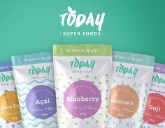 Hoy en día, Super Foods relativa a los envases del Mundo - Paquete creativo Galería de diseño