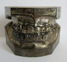 Unusual Early Columbia Dento Form Ligature Braces by Fivehands, $185.00