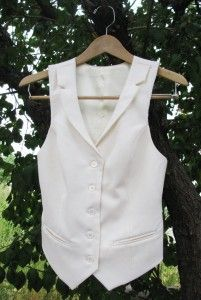 Beach wedding vest