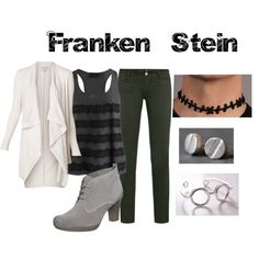 """Franken Stein from Soul Eater"" by animeinspirations on Polyvore"