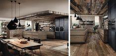 Resultado de imagen de cocinas estilo industrial