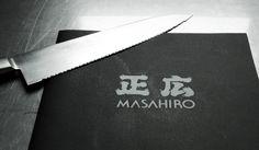Masahiro identity design | Breakfast Identity Design, Kitchen Knives, Breakfast, Morning Coffee, Brand Identity Design