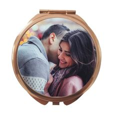 Exclusive Rose Gold Round Personalized Compact Mirror photo mirror personalised pocket mirror by funkytshirtsfactory on Etsy Photo Mirror, Case Closed, Compact Mirror, Rose Gold Color, Us Images, Personalized Gifts, Pocket, Handmade, Etsy