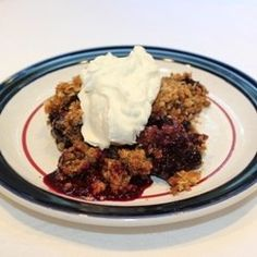 Blueberry Crisp - also sometimes called a Blueberry Crumble - is a quick and easy dessert that is one of my family's favorites. The perfect crisp...